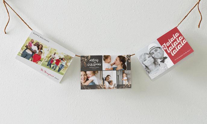 Personalised Christmas Cards - Zazzle UK
