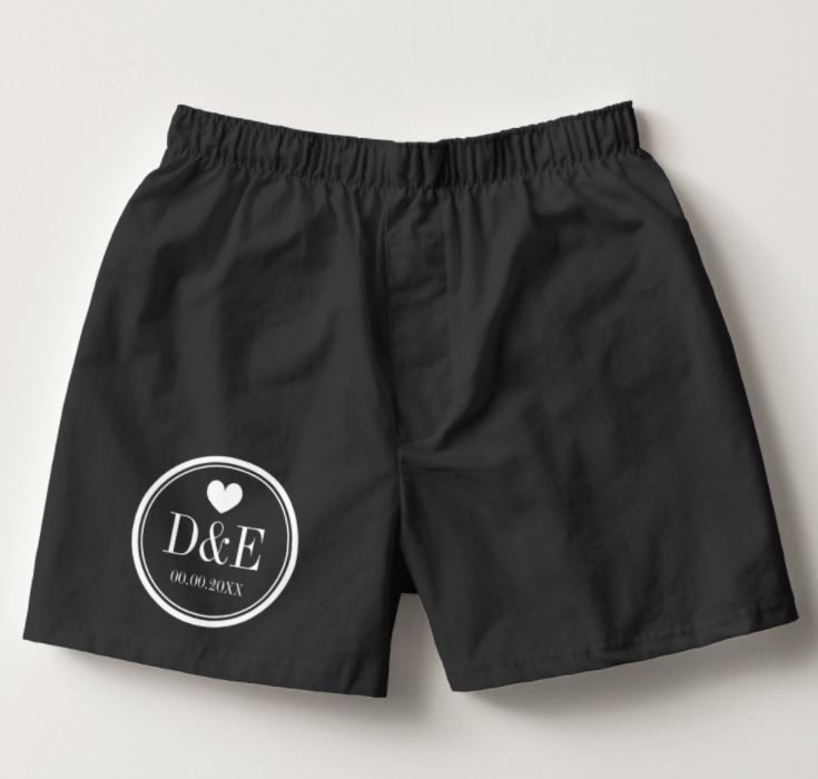 Personalised Boxer Shorts - Valentine's Day Gifts For Him