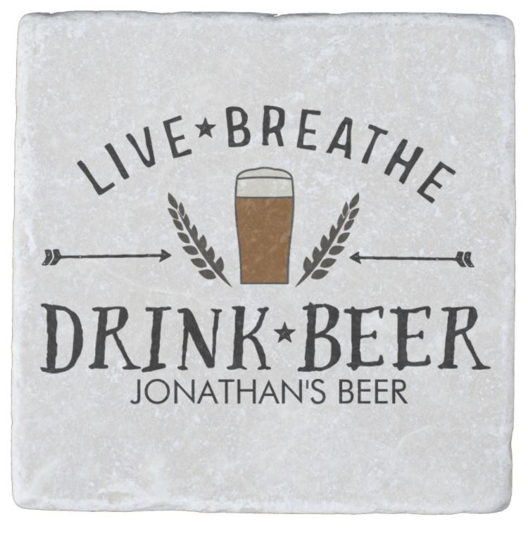 Personalised Beer Coaster - Valentine's Day Gifts For Him