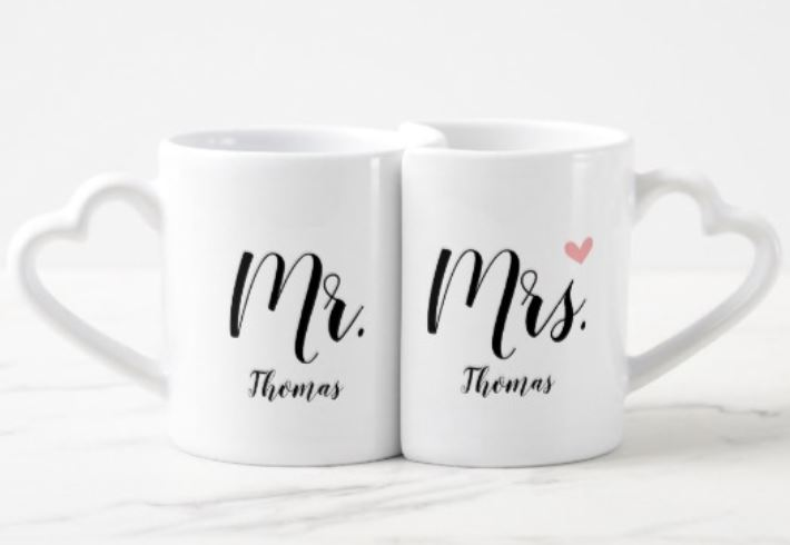 His n Her Mugs - Valentine's Day Gifts For Him