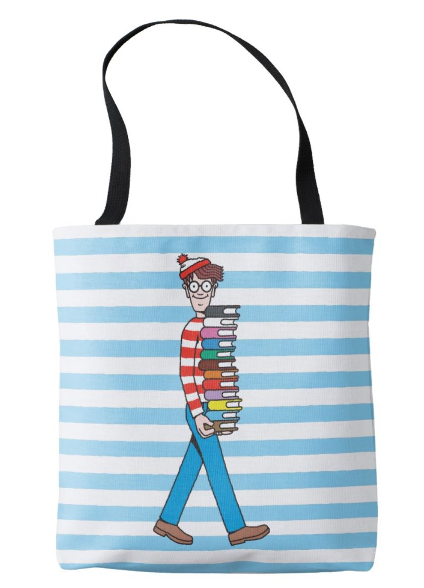 Where's Wally Book Bag