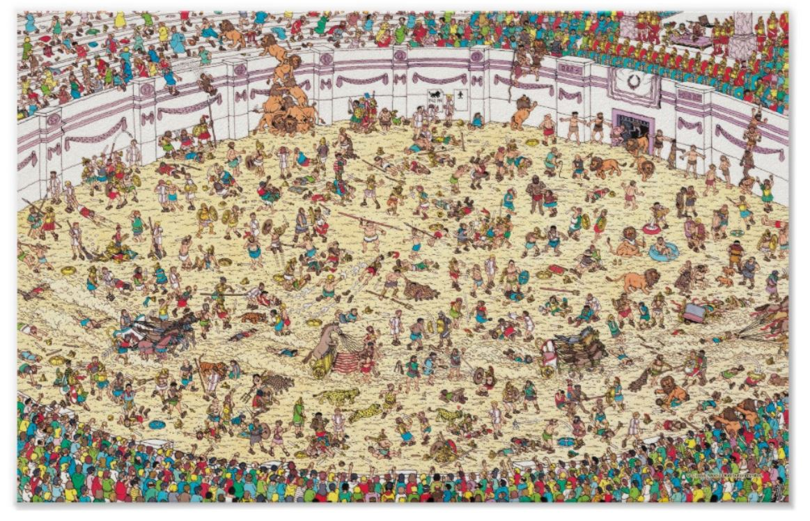 Where's Wally - Ancient Rome