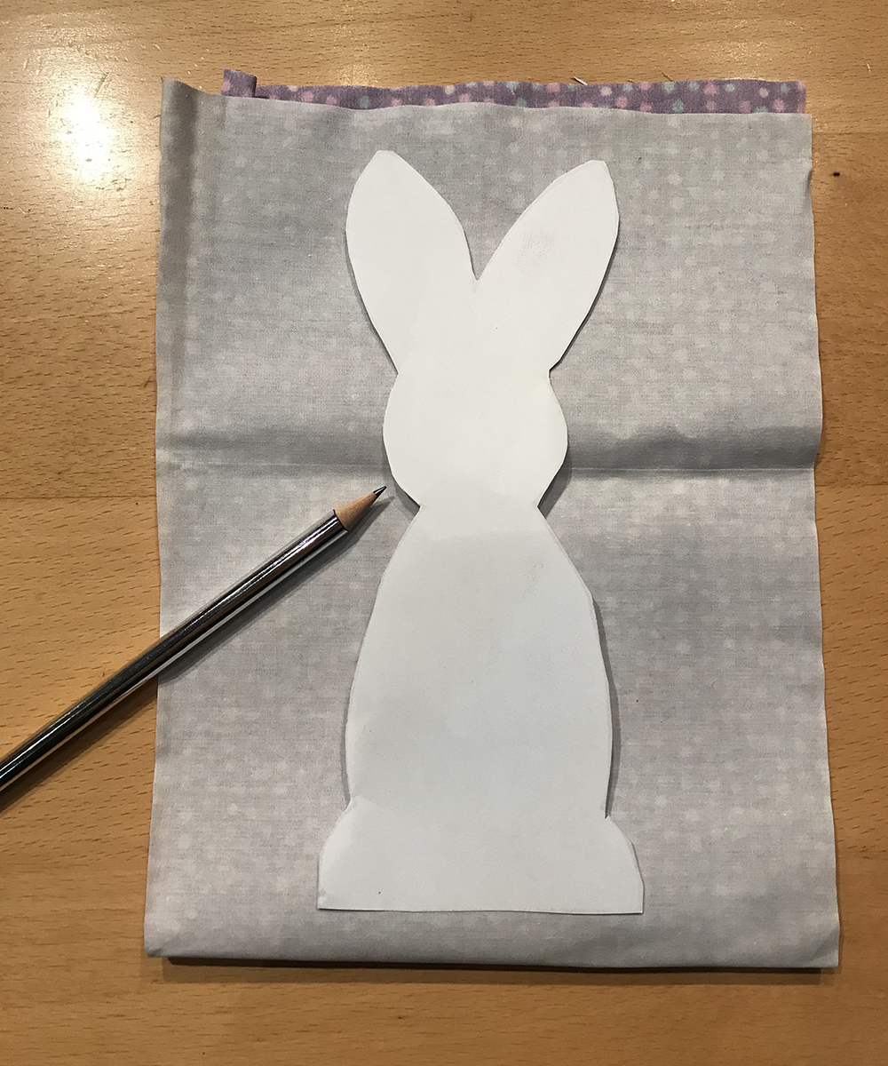 Eastr Bunny Fabric DIY