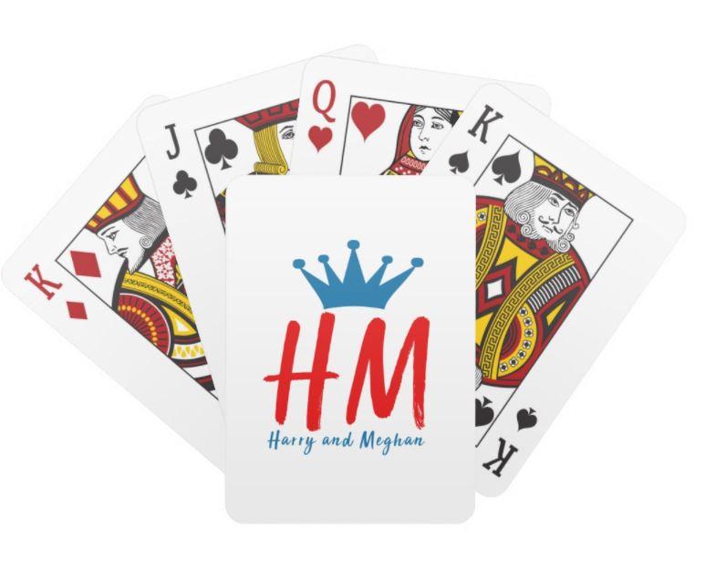 Harry & Meghan Playing Cards - Royal Wedding Games