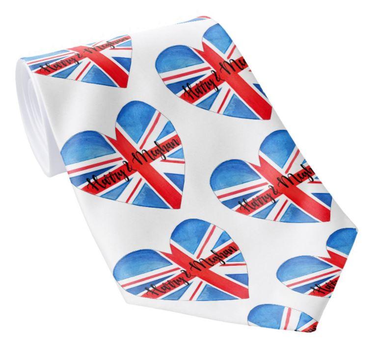 Harry & Meghan Tie - Royal Wedding Accessories