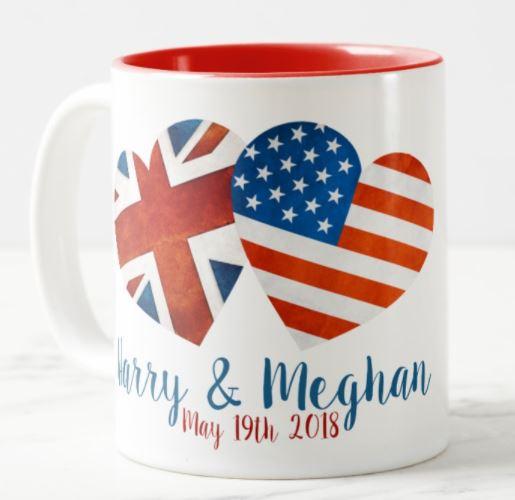 Harry & Meghan Mug - Royal Wedding Mug