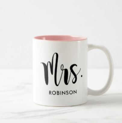 Wedding Mug - Mrs