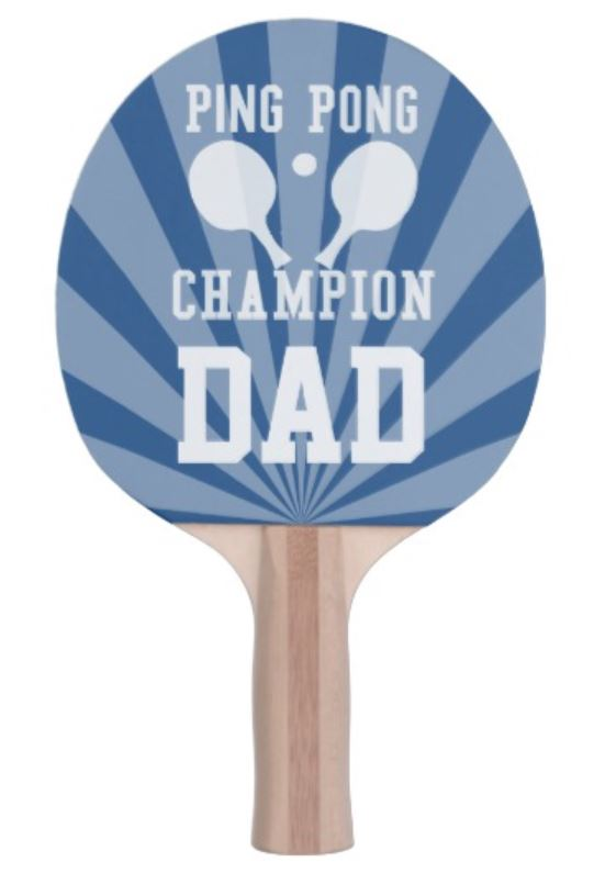 Dad Ping Pong Paddle