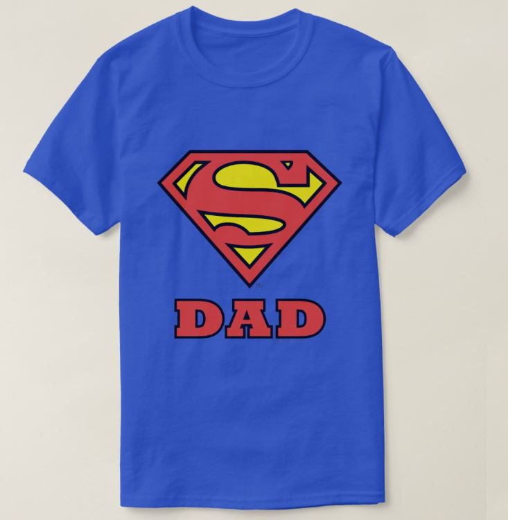 Fathers Day Superdad T-Shirt