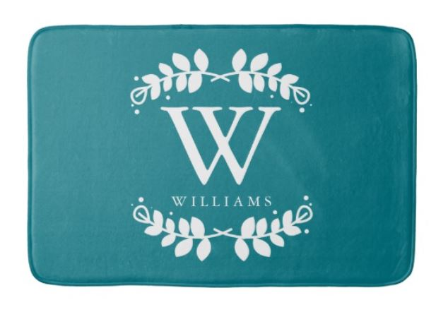 Wedding Couple Bath Mats