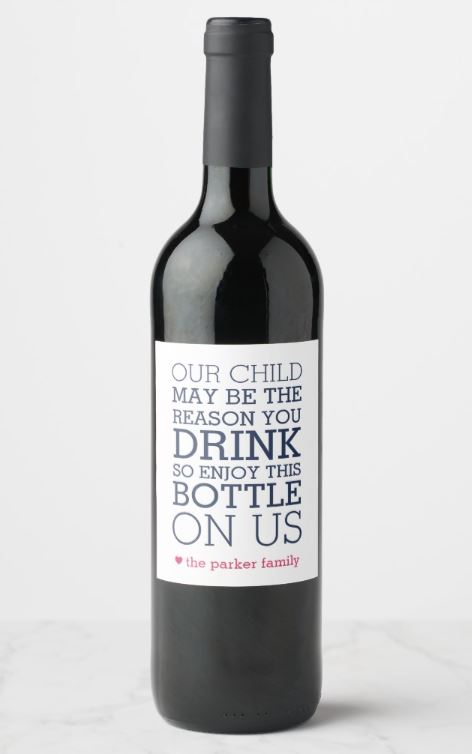 Teacher Wine Labels - Teacher Gift Ideas