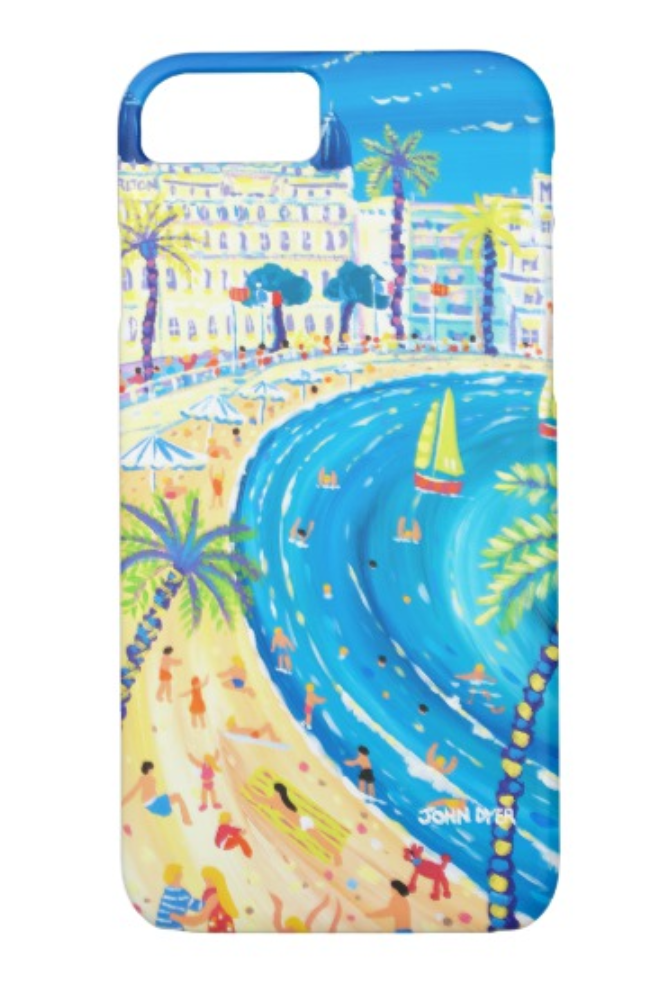 Cannes - South of France - John Dyer iPhone Case
