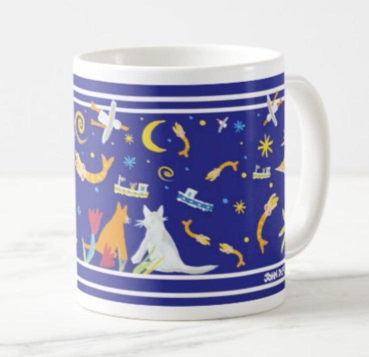 Summertime Night St Ives John Dyer Mug