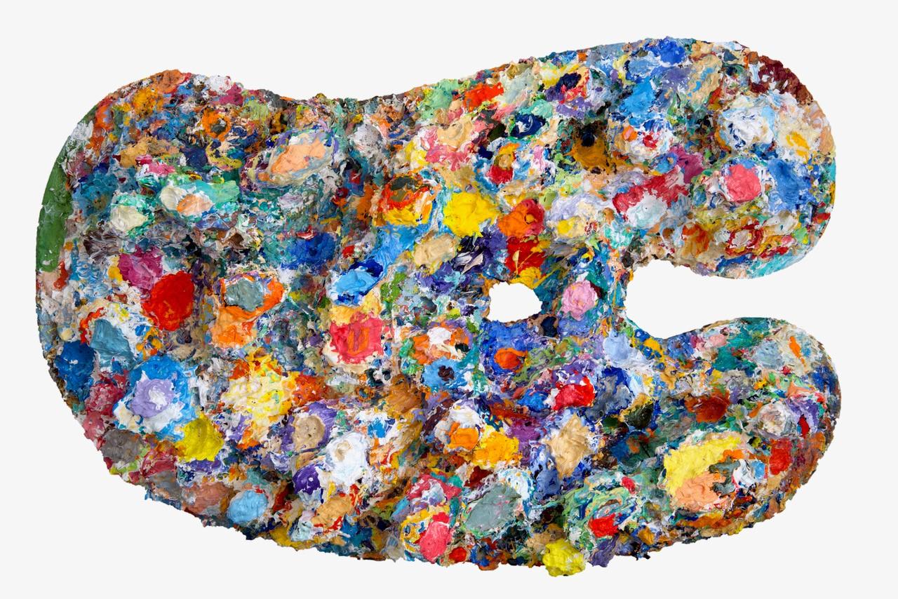 John Dyer Painting Palette