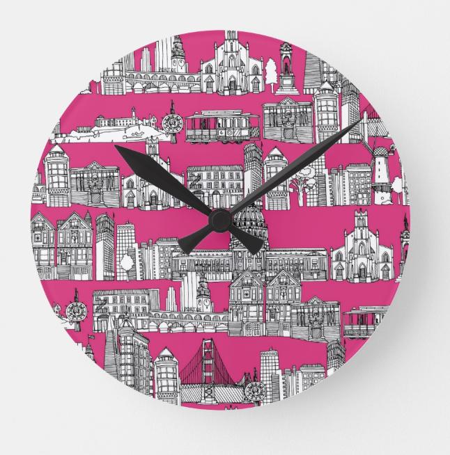 Scrummylicious - San Francisco Clock