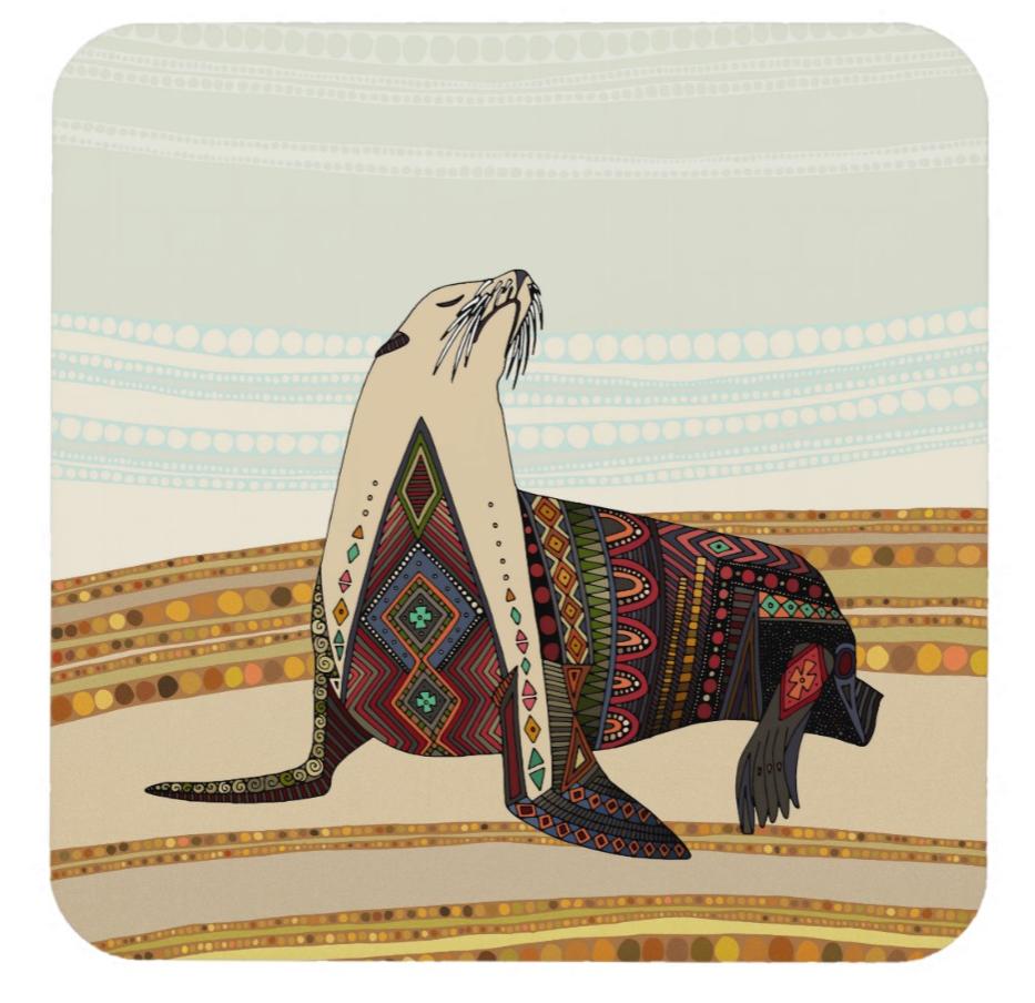 Scrummylicious- Sealion Coaster