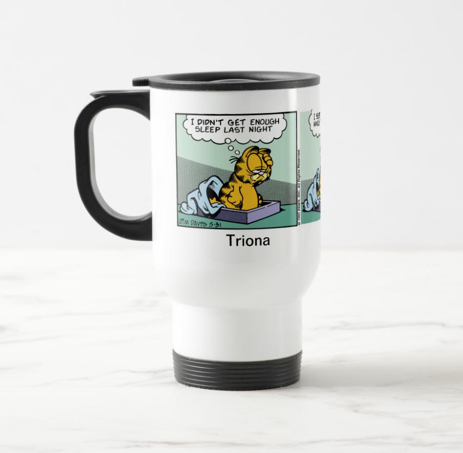 Personalised Garfield Mug