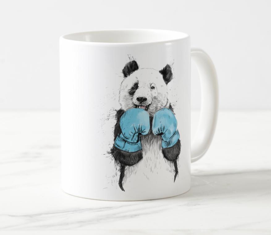 Hipster Panda Mug