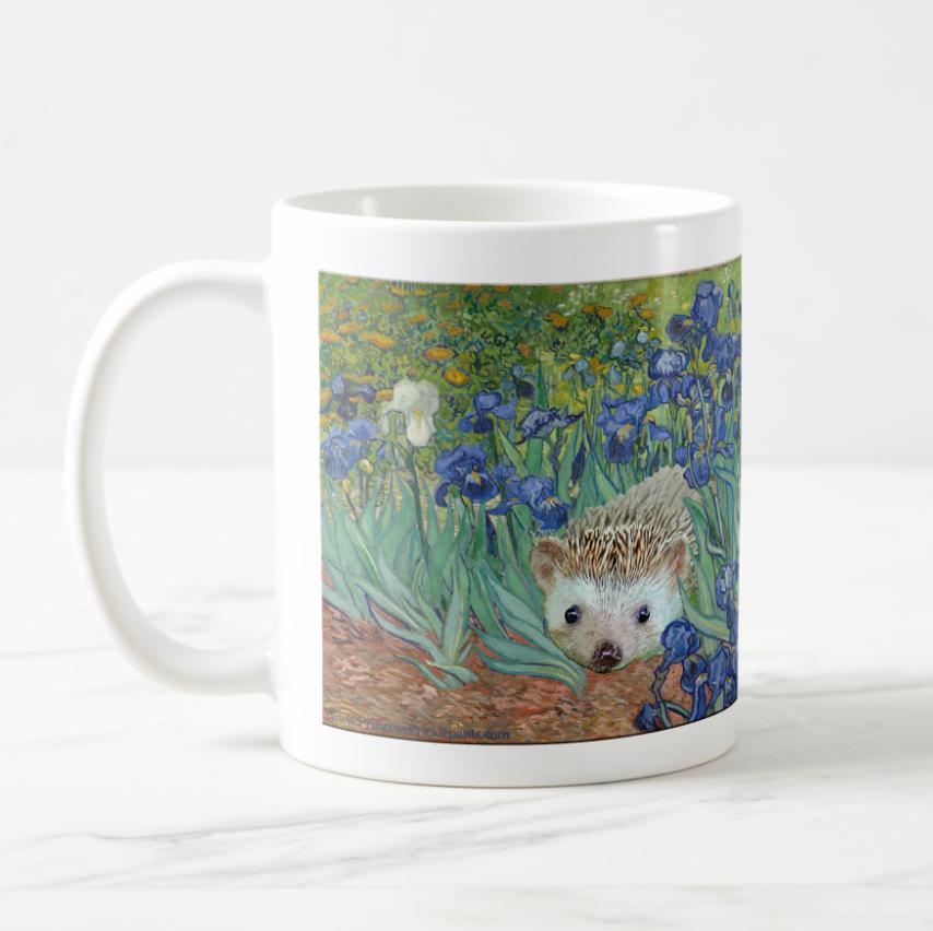 Van Gogh Hedgehog Mug