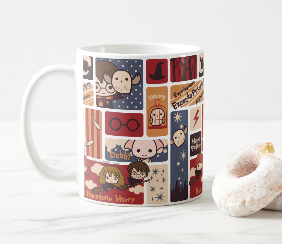 Harry Potter Cartoon Mug