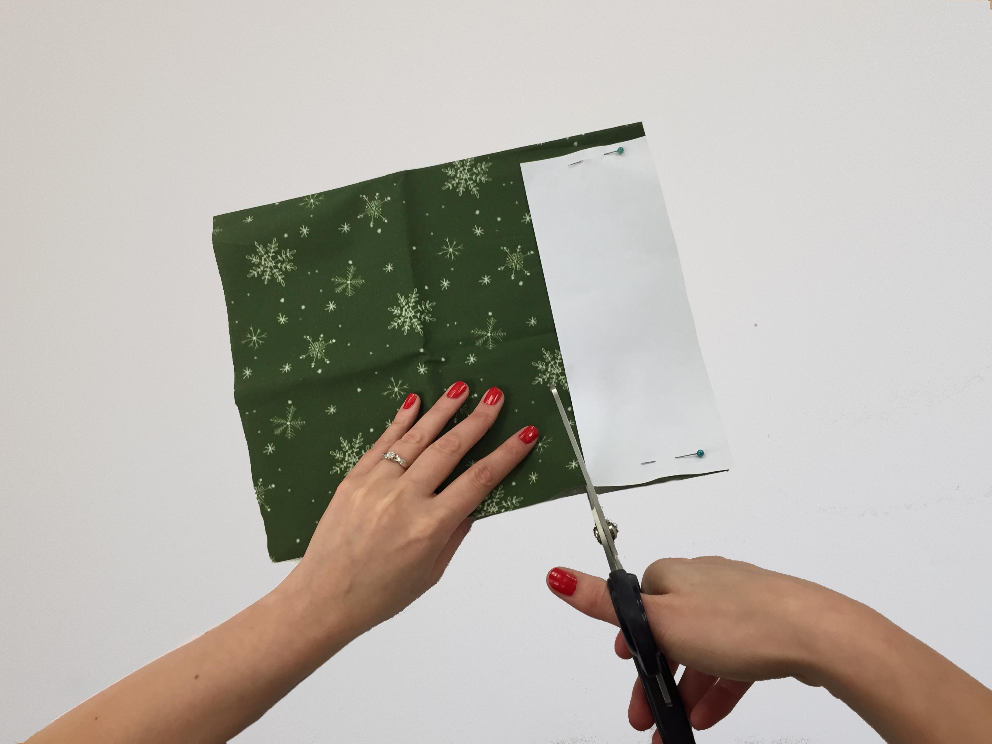 DIY Advent Calendar: Cutting out template
