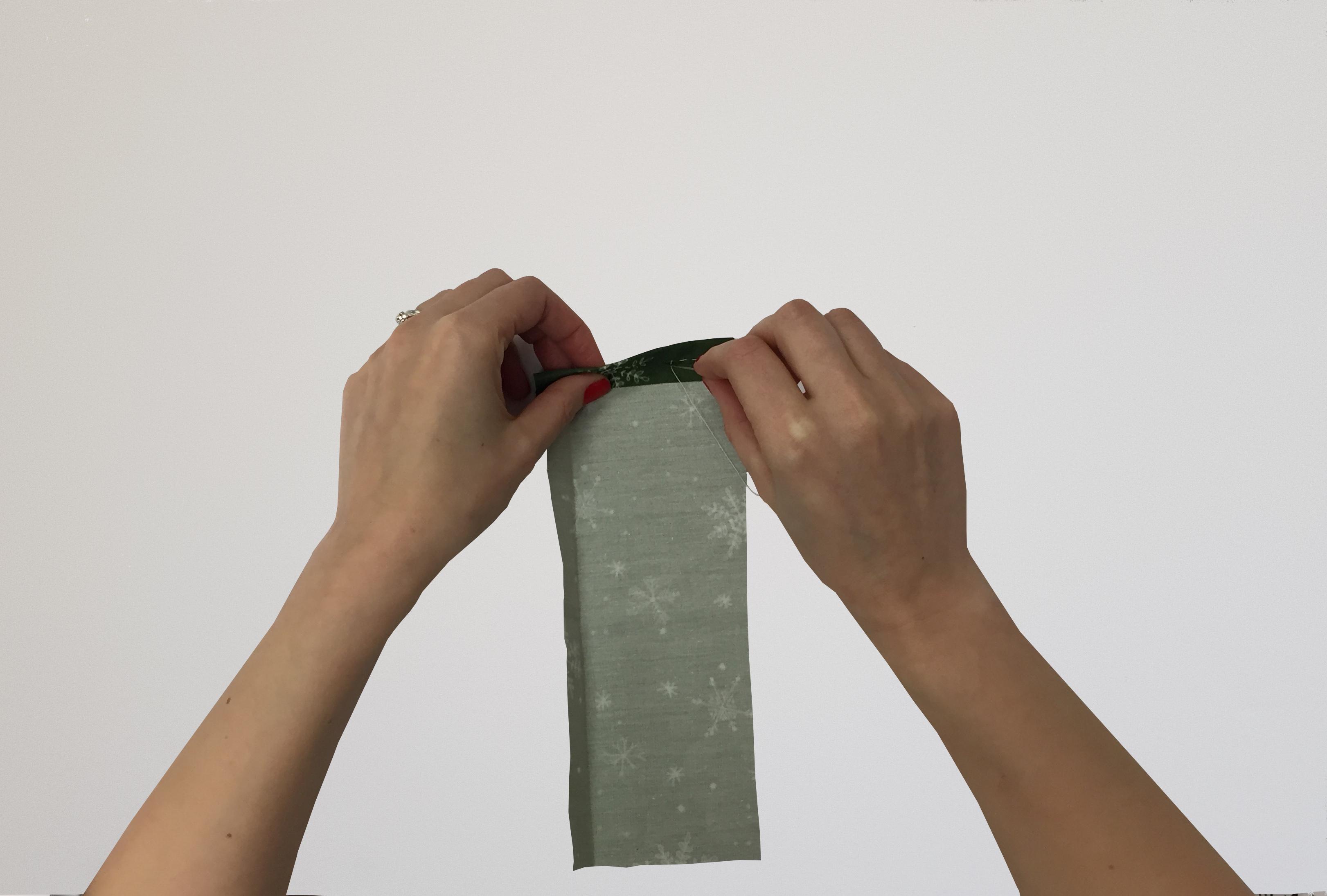 DIY Advent Calendar - Sewing Each Bag
