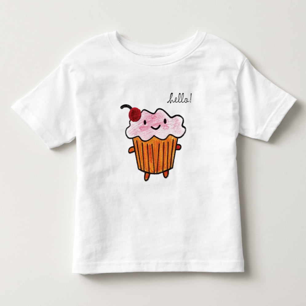 Happy Cupcake T-Shirt