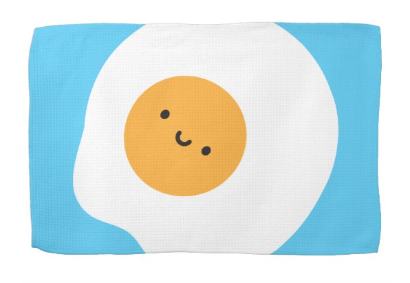 Fried Egg Tea Towel