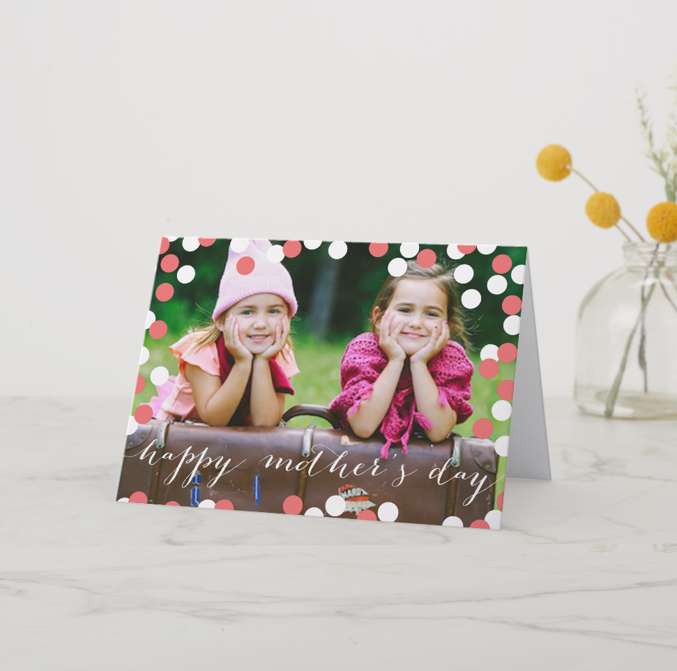 Photo Mother's Day Cards from zazzle