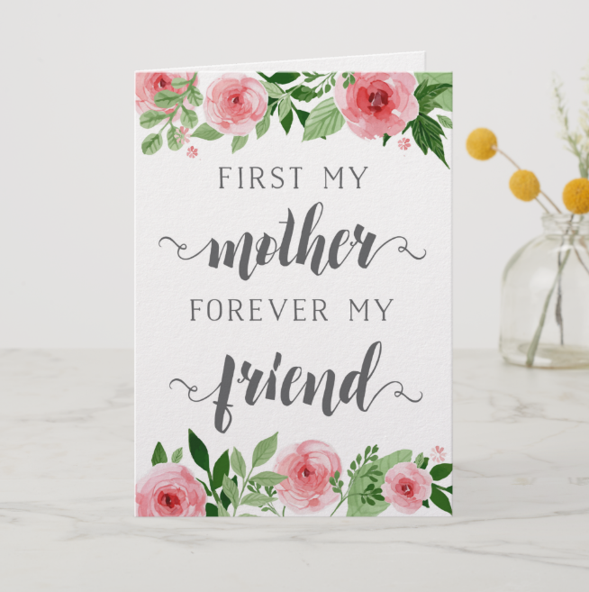 Quote Mother's Day Cards