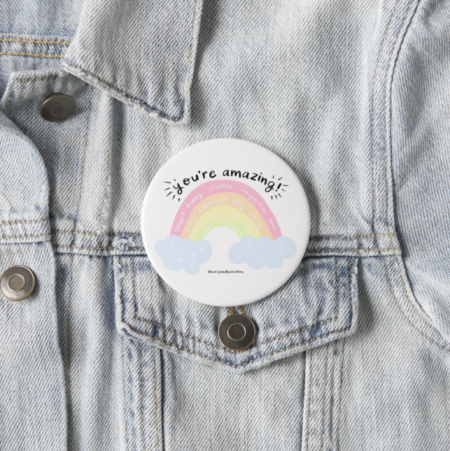 Hello Happee: Positive Badges